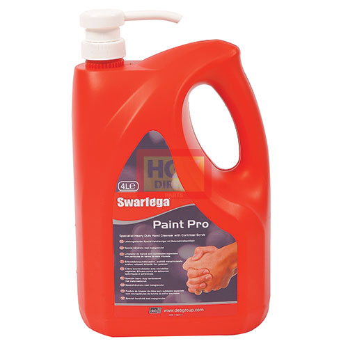 DEB PAINT PRO HAND CLEANER 4LTR PUMP