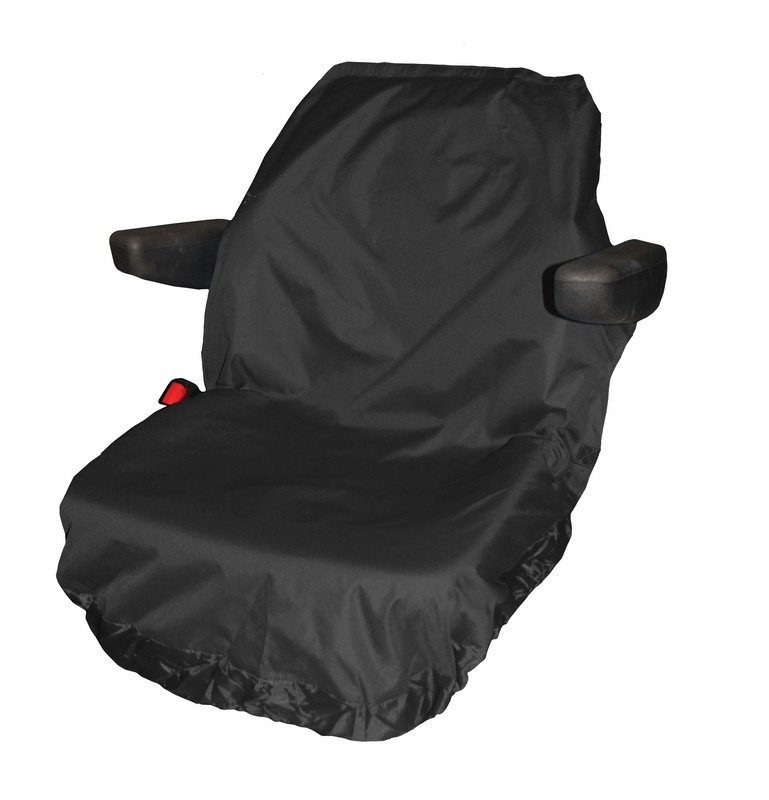 UNIVERSAL TRACTOR LARGE SEAT COVER- BLACK