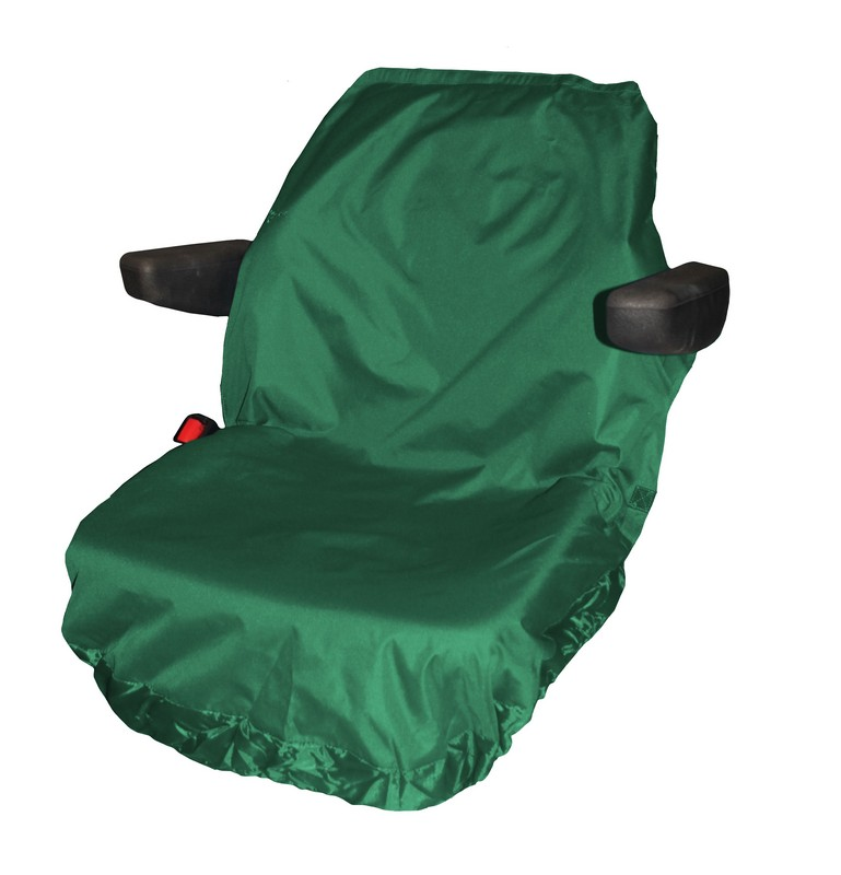 UNIVERSAL TRACTOR LARGE SEAT COVER- GREEN