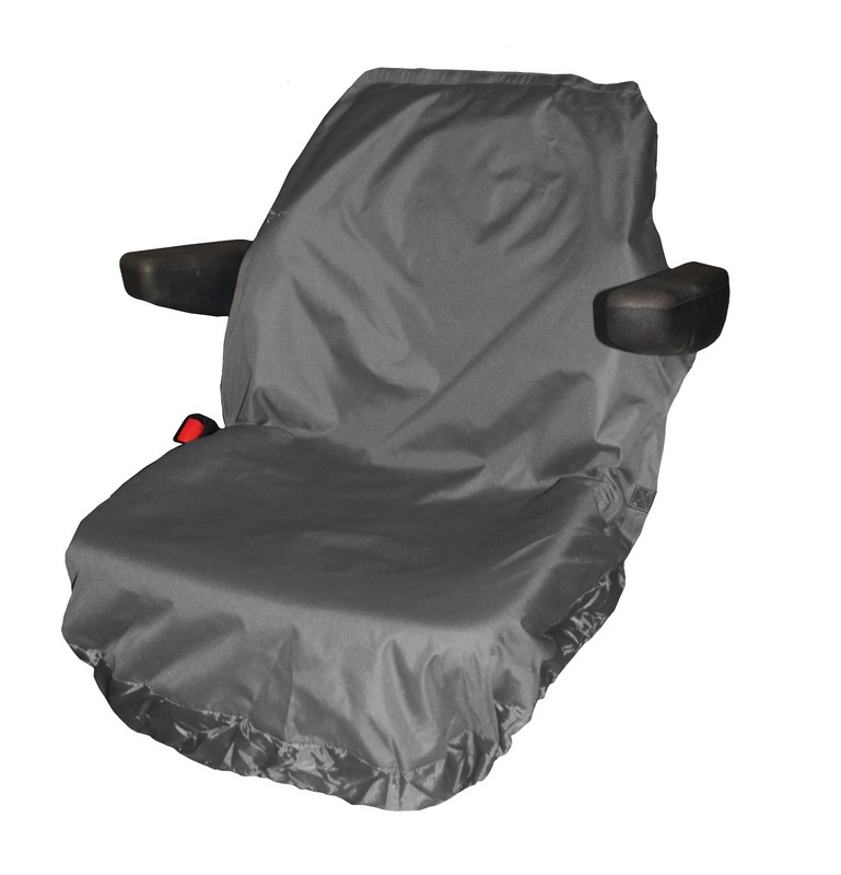 UNIVERSAL TRACTOR SEAT COVER LARGE- GREY