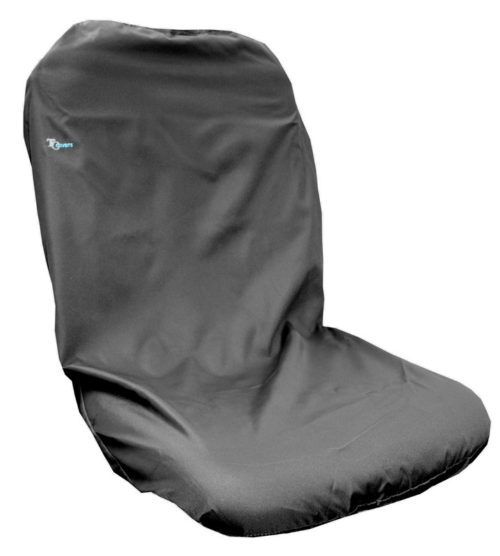 TRACTOR HIGH BACK SEAT COVER- BLACK