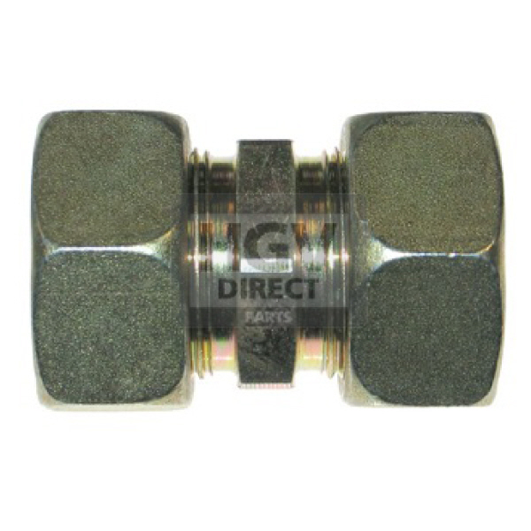 Metric Compresion Straight Connector 8mm