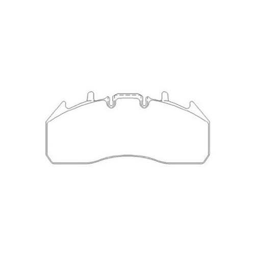 RENAULT RVI PREMIUM 460 BRAKE PAD SET REAR