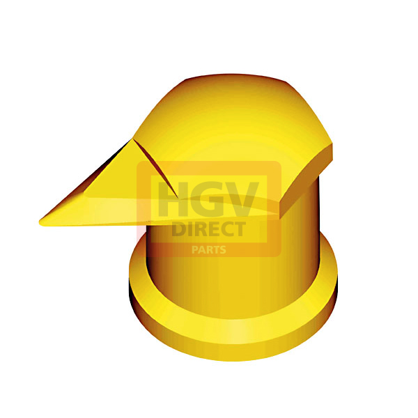 DUSTITE LONG REACH 32MM YELLOW NUT COVER