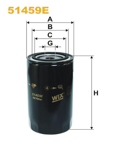 WIX HD OIL FILTER 51459E