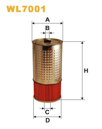 WIX OIL FILTER - CANISTER WL7001