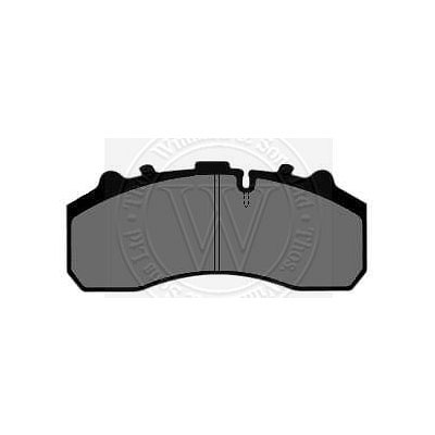 BRAKE PAD SET KNORR SB7 SN7 CALIPER DAF SCANIA MAN MERCEDES IVECO WP988